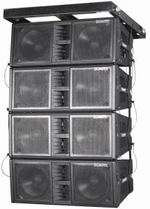 Bw-2122A Line Array Sistema Sonido Professional Active Speaker pictures & photos
