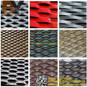 Aluminium Rhombic Shaped Expanded Metal Sheet pictures & photos