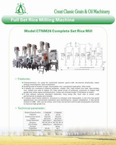 CTNM26 Complete Rice Grinding Machine pictures & photos