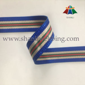 Best Selling 38mm Striped Polyester Nylon Jacquard Webbing pictures & photos