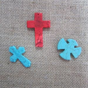 Cross Pendant, Fashion Turquoise Cross pictures & photos