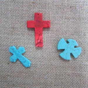 Cross Pendant, Fashion Turquoise Cross pictures & photos