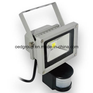10W Motion Sensing LED Floodlight pictures & photos