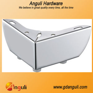Hot Sale Chrome Coated Sofa Legs, Sofa Hardware Parts, Furniture Parts (ZF-A104) pictures & photos