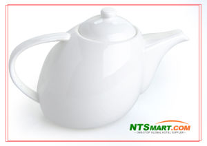 White Ceramic Teapot/ Porcelain Teapot (NS00019546) pictures & photos