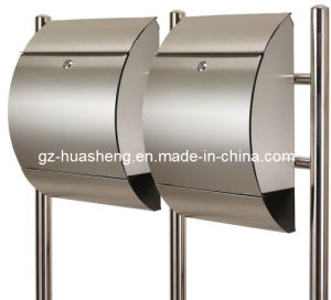 Stainless Steel Mailbox with Lock (HS-MB-011) pictures & photos