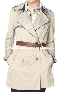 Women Fashion Trench Coat (CHNL-CT001)