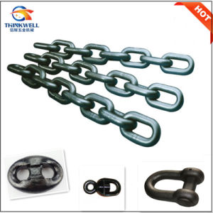 Proof Coil Studless Anchor Chain with Kenter Shackle pictures & photos