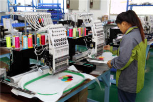 4 Heads Computerized Embroidery Machine for Jackets Cap and Towel -Wy1204c/Wy904c pictures & photos