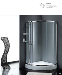 Simple Acid Glass Shower Room Wg-9010