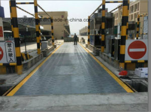 Scs-100tons Weighbridge Scale/Gold Scale/Wrestling Scales pictures & photos