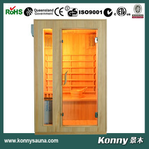 2014 Kl-E2 2 Person Indoor Finnish Hemlock Wet Steam Sauna