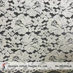 Tricot Allover Cord Lace for Garment (M3454-G) pictures & photos