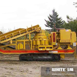 Wl Stone Mobile Cone Crusher Crushing Plant for Granite (WL3S1848C100) pictures & photos