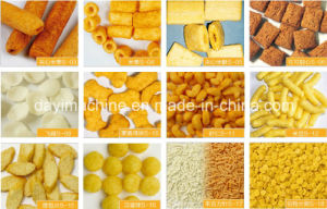 Directly Extruded Corn Puff Snack Food Machine Slg65-C pictures & photos
