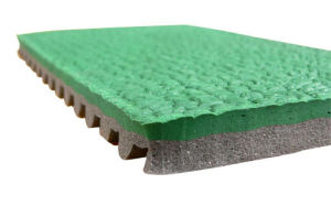High Quality Huadongtrack Certificated Prefabricated Rubber Running Sport Track pictures & photos