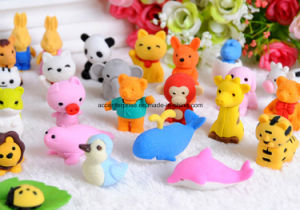 Different Small Animal Shape Erasers pictures & photos