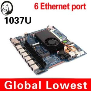 Hot Sales! ! C1037u Mini Itx with 6 LAN Port Mainboard 6 RJ45 Port Motherboard Cheap Wholesales Price pictures & photos