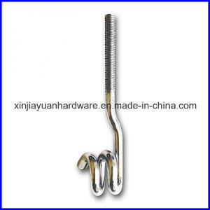 Galvanized Steel Pigtail Foundation Bolt for Construction pictures & photos