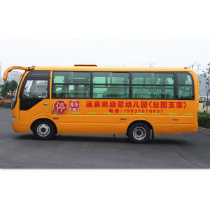 Low Price School Bus in Sales Promotion pictures & photos
