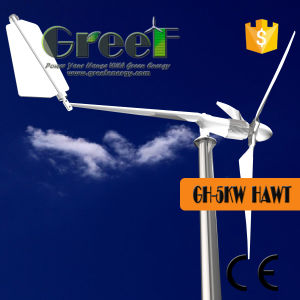 5kw Horizontal Axis Wind Turbine with BV pictures & photos
