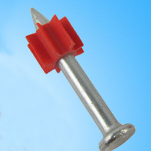 Red Buffer Smooth Shank Gun Shoot Nail pictures & photos