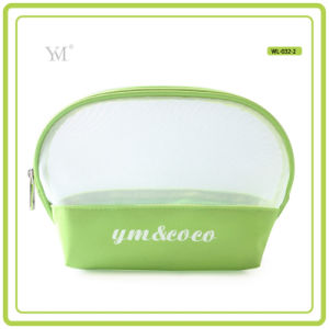 Wholesale Hot Selling Good Quality Zip Mesh Makeup Bag pictures & photos