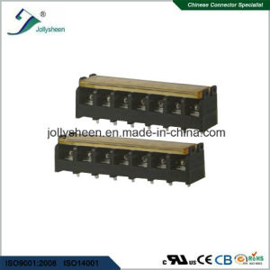 7pin pH8.25mm Barrier Terminal Blocks Straight Type with Clear PC Safety Cover pictures & photos