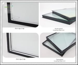 5+6A+5 Insulated Glass / Insulating Glass / Hollow Glass for Building pictures & photos