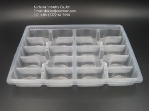 PP Customized Plastic Blister Takeaway Food Packaging Container pictures & photos