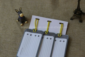 Wholesale Custom Long Strap Plastic PVC Luggage Tags pictures & photos