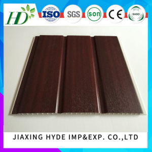 250mm Width Groove Lamination PVC Panel PVC Ceiling PVC Wall Panel Decoration Waterproof Panel pictures & photos