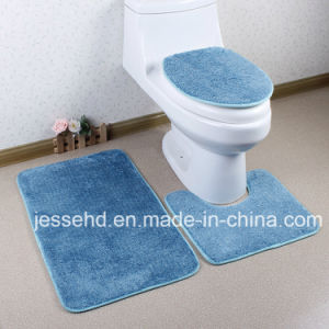 Wholesale High Quality 3PCS High Pile Bathroom Rug Set pictures & photos