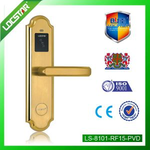 Hoel Door Lock with Card Key Unlocking