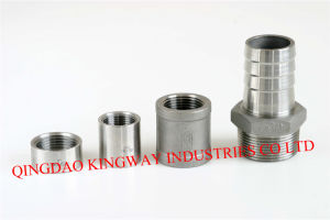 Stainless Steel 316 Threaded Merchant Coupling. pictures & photos
