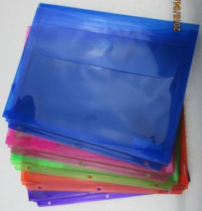 Horizontal Envelop Bag with Magic Tape (F044) pictures & photos