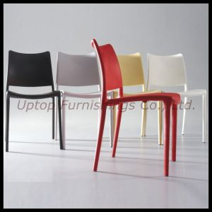 Commercial Stacking Plastic Restaurant Cafeteria Cafe Chair (SP-UC296) pictures & photos