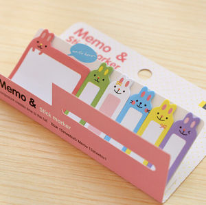 Colorful Printing Memo Stick Marker (SN-005) pictures & photos