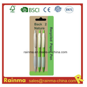 Corn Ball Pen for Eco School and Office Stationery pictures & photos