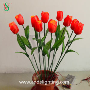 LED Colorful Artificial Flower Light pictures & photos