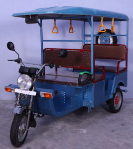 Hot Sale India Electric Passenger Rickshaw with 800W