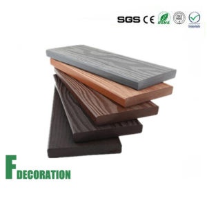 Longlife Wood Grain WPC Composite Decking pictures & photos