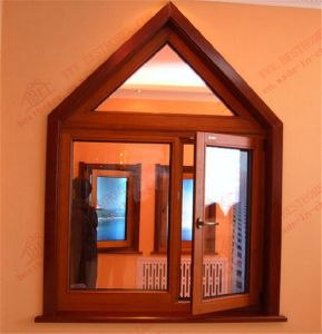 Triangle Design of Casement Window (BHA-CWA03) pictures & photos