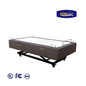 2017 Popular Hi-Lo Bed Electric Bed Adjustable Bed Head & Foot up Down Bed pictures & photos