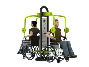 Outdoor Exercise Machine Handicapped Gym Equipment pictures & photos