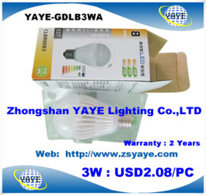 Yaye Top Sell Factory Price E27 LED Bulb 9W / SMD5730 E27 LED Bulb 9W / Aluminum LED Bulb 9W pictures & photos