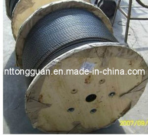 Elevator Steel Wire Rope (8*19S - 13.0mm) with ISO9001: 2008 pictures & photos