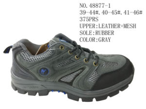 No. 48877 Two Colors Men Hiking Stock Shoes pictures & photos