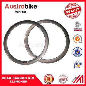 50mm Carbon Clincher Wheelset Carbon Clincher Road Rim