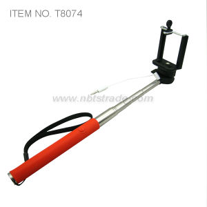 Handheld Selfie Stick Extendable Cable Take Pole Monopad pictures & photos
